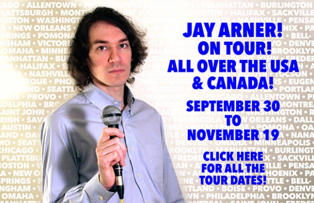 Jay Arner on tour