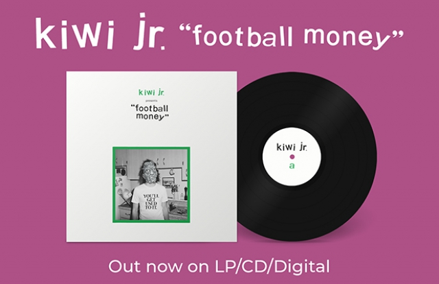 Kiwi jr Football Money CD LP album cover indie pop record vinyl