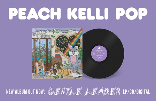 Peach Kelli Pop Gentle Leader buy now lp vinyl record cd music shop