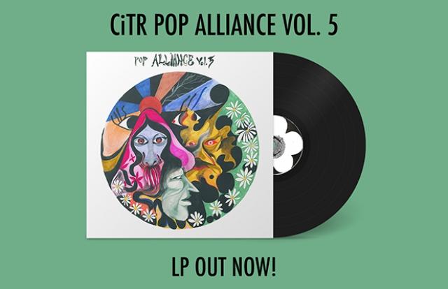 pop alliance CiTR vinyl record album LP