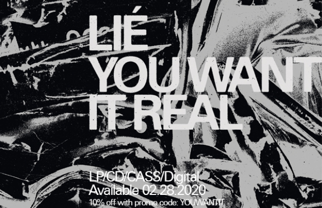 lié you want it real pre-order lp vinyl record cassette cd tape 10% off