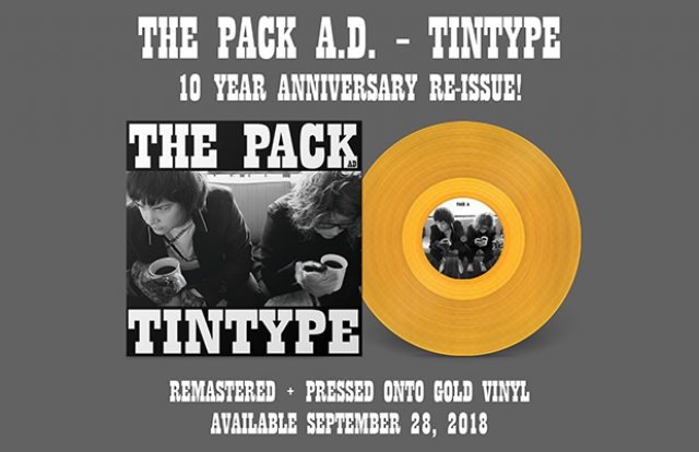 The Pack ad a.d. tintype remaster reissue lp vinyl record gold