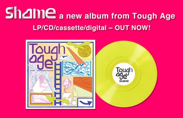 Tough Age - Shame lp vinyl colour