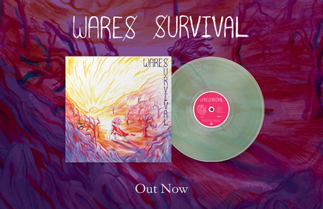 Wares Survival LP CD Cassette order vinyl record CD buy now