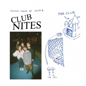 Dumb - Club Nites - album cover lp record vinyl cd cassette post-punk